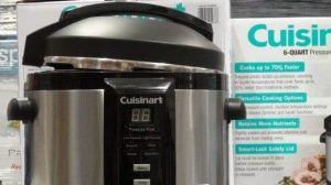 cuisinart vs instant pot