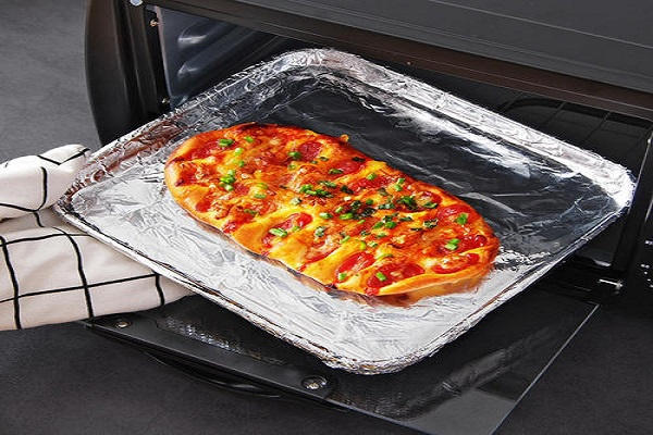 Aluminum Foil in Toaster Oven