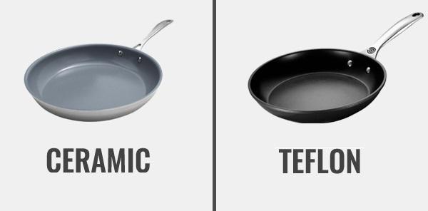 Ceramic vs Teflon pan
