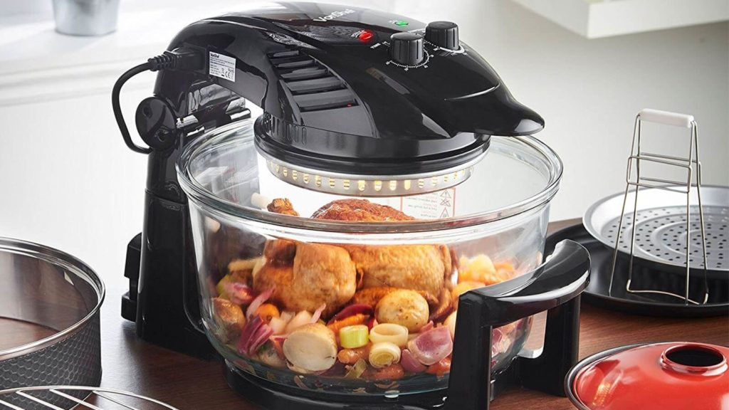 Difference Air Fryer Halogen Oven